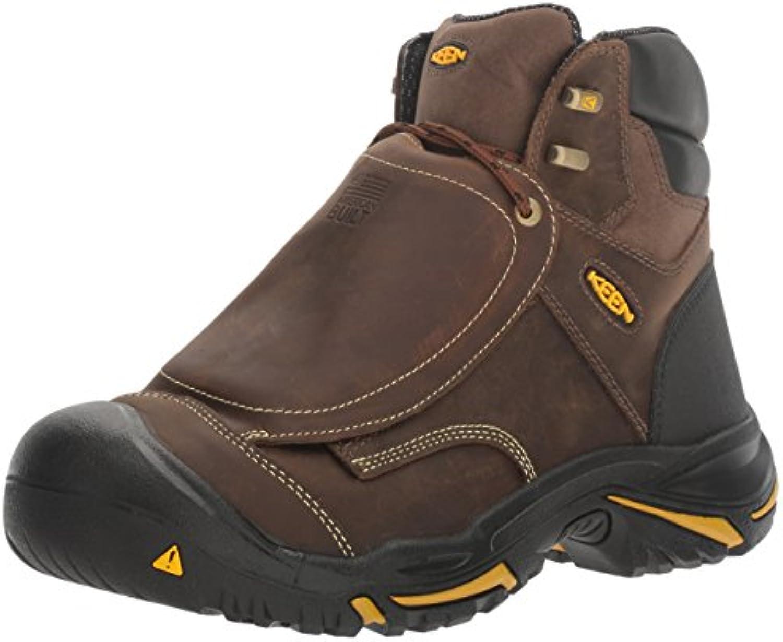 Keen Utility Men's MT. Vernon Met Industrial and Construction Shoe  Cascade Brown  7.5 2E US