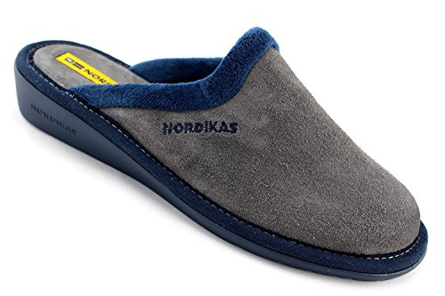 Nordikas 234/8 Plus Afelpado Mule Pantoufles Gris