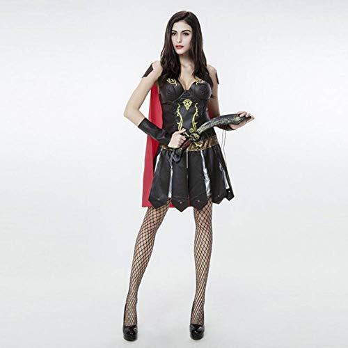 Kostüm Gladiator Griechischen - ASDF Halloween Kostüm griechische Göttin Gladiator Samurai Kostüme Krieger Anzug