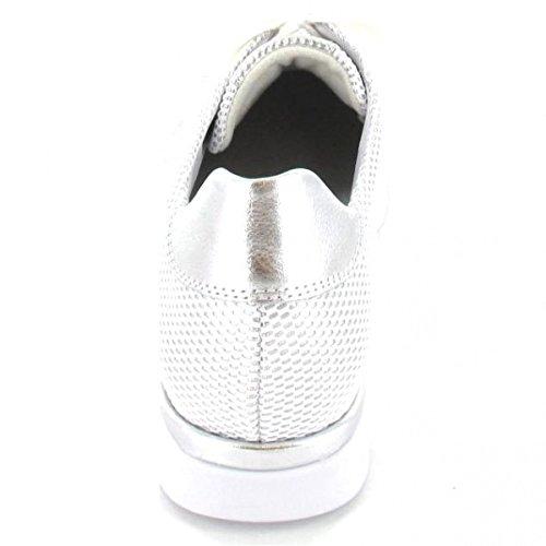 Semler N 8135-902-101 Nelly H, Scarpe stringate donna bianco bianco Bianco/Argento