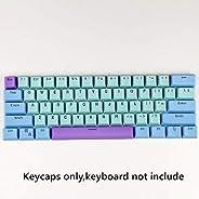 CORN 61 Key Layout OEM Profile PBT Thick Keycaps for 60% Mechanical Keyboard for RK61,GANSS ALT61,IKBC Poker,A