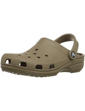 Crocs Classic, Unisex - Erwachsene Clogs, Braun (Khaki), 37-38 EU