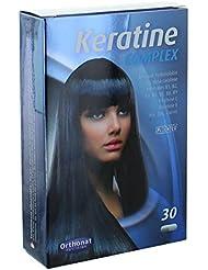 Orthonat - Keratine complex - 30 gélules - Une chevelure belle et saine