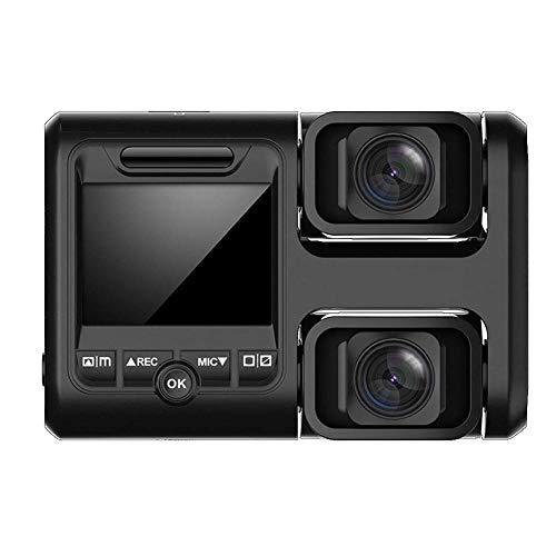 Dash Cam Full HD 1080P Car Dash Cams DVR Dashboard Cámara incorporada en G-Sensor Detección de movimiento Grabación en bucle (La tarjeta SD NO está incluida