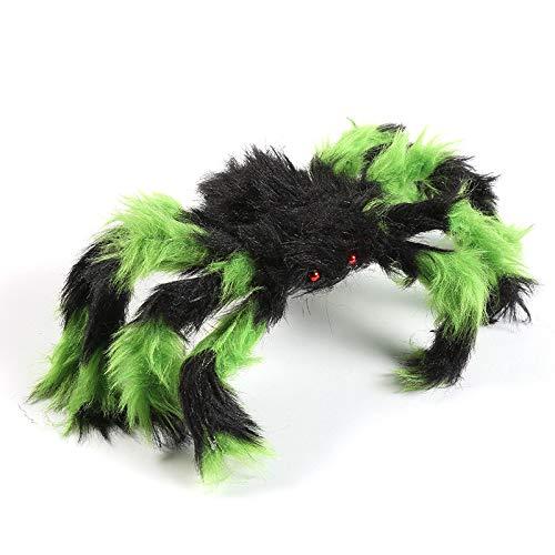 Großhandel Halloween Dekoration Simulation Spider Cob Spot Maßgeschneiderte Halloween Anordnung Requisiten Factory Direct Flower Spider 75cm83g (Kostüm Halloween Großhandel)