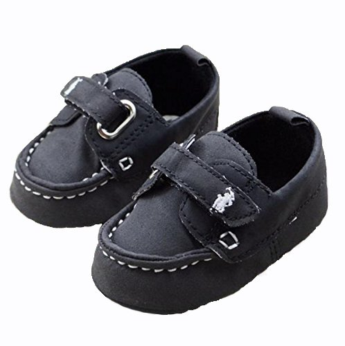 Baby Bucket Pre-Walker Sandal Shoes Light Weight Soft Sole Booties Sandal (10-15 Months, Black)