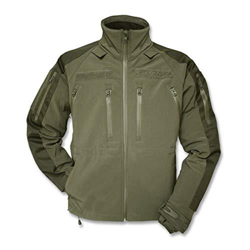 Copytec Tactical Kommando Softshell Jacke KSK Spezialkräfte Security Airsoft Dienstjacke #14084, Größe:XL, Farbe:Oliv