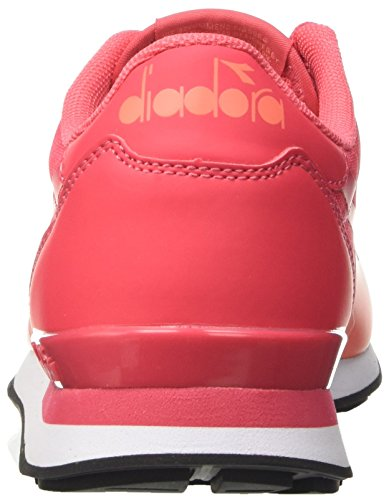 Diadora Camaro mm, Sneaker Basses Mixte Adulte Rouge (Rosso Flame)
