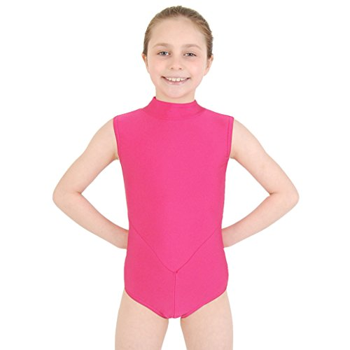 e44ca145ed5c Dance Gear Harmony Children s Nylon Lycra Polo Neck Leotard - Buy ...