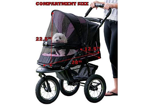 Pet Gear Hundebuggy, Rosarot - 4