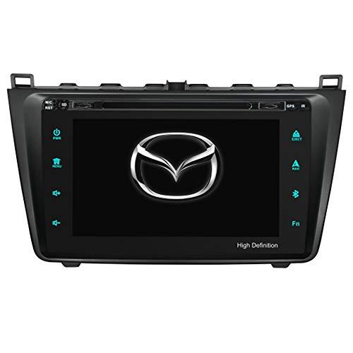 TAFFIO® Mazda 6 Android 8 Autoradio Touchscreen Bluetooth GPS 3D Navi DVD USB SD WiFi 4GB RAM +32GB ROM - 6 Radio Mazda