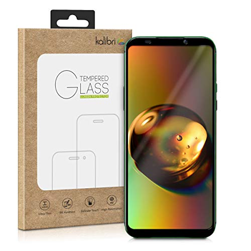 kalibri Xiaomi Black Shark 2 Folie - 3D Glas Handy Schutzfolie für Xiaomi Black Shark 2 - Auch für gewölbtes Bildschirm