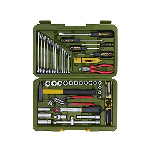 PKW- und Universalwerkzeugkoffer - 47-teilig in schlagfestem Koffer - von PROXXON - PKW-Werkzeug PKW-Werkzeuge Universalwerkzeugkoffer Werkzeug Werkzeugset Werkzeugsets