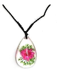 0fa8e2d06c2f Amazon.es  lampara flores - Collares y colgantes   Bisutería barata ...