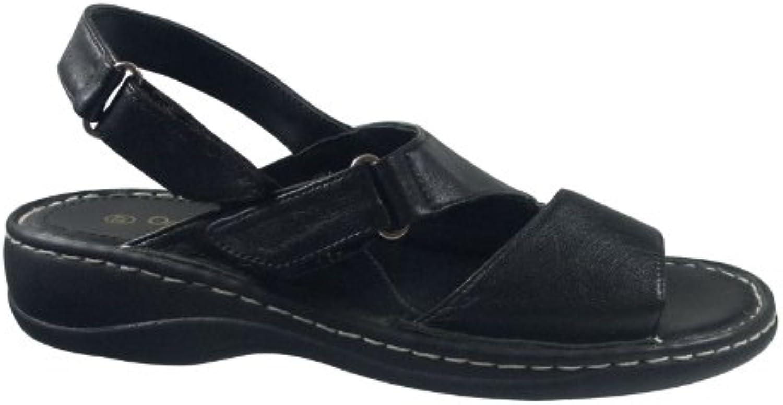Ornela Brenti 33242-101 Damen Schuhe Premium Qualität Sandale