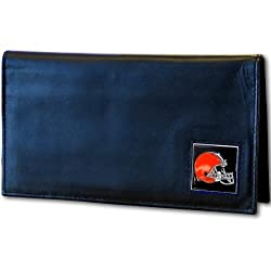 NFL Cleveland Browns Leather Checkbook Cover