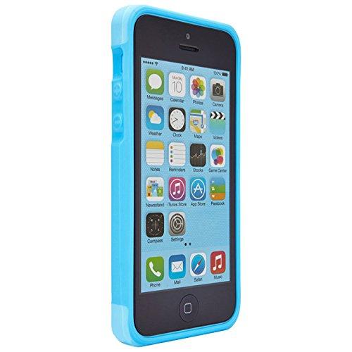 Thule Atmos X3 Case für Apple iPhone 5C mit Sturz-Schutz weiß/grau Blau