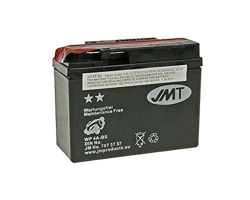 Batterie JMT  - 707.37.37 - MF wartungsfrei - YTR4A-BS 12 Volt [ inkl.7.50 EUR Batteriepfand ]