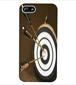 ColourCraft Dart Board Back Case Cover for APPLE IPHONE 5