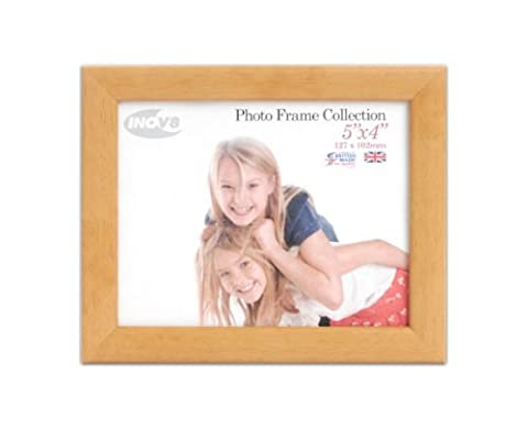 Inov8 British Made Traditional Picture/Photo Frame, 5x4-inch, Value