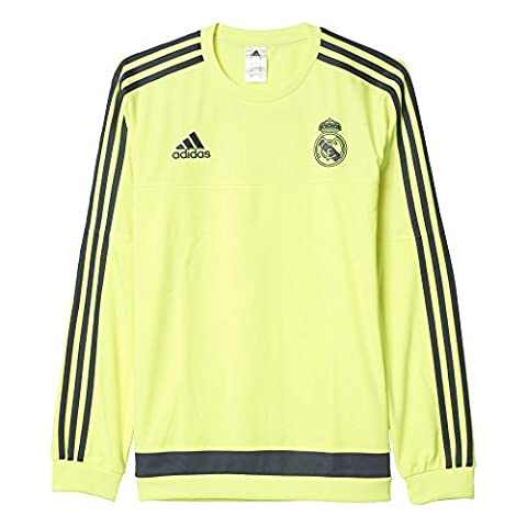 Sweat Training Adidas - adidas S88892 Sweat-shirt Homme Jaune/Gris FR :