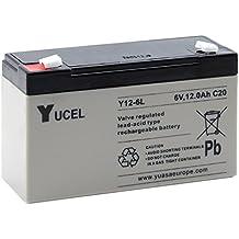 Yucel - Batería Yucel Y12-6 12Ah 6V (similar NP12-6 Yuasa)