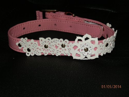 oscar-de-la-renta-pink-leather-pet-collar-leash-set-medium-by-neiman-marcus-target-english-manual
