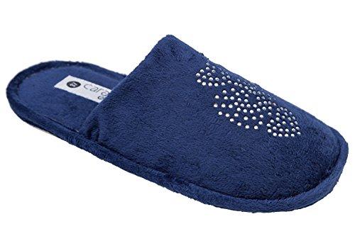 gibra, Pantofole donna Blu (blu scuro)