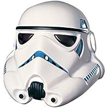 Star Wars Stormtrooper Máscara de PVC de 3/4de adulto disfraz accesorio
