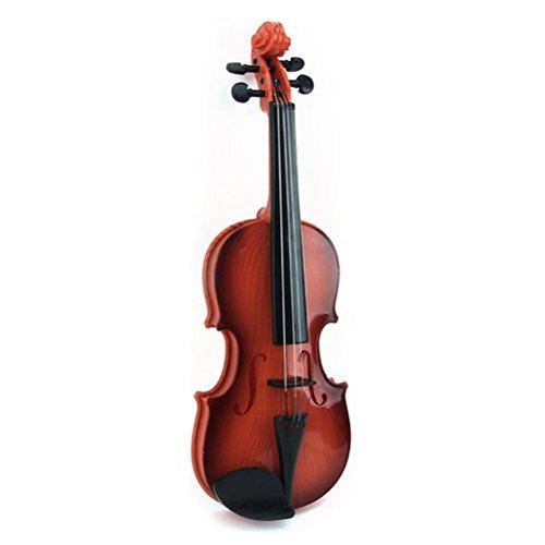 Toyvian Kinder Violine Geige Ukulele Gitarre Musikinstrument Musik Spielzeug für Anfänger (Zufällige Farbe)