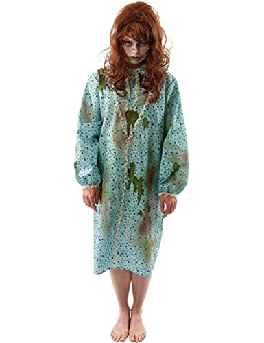 Ladies exorcist zombie demon horror movie halloween outfit fancy dress costume