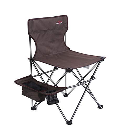 Ruitx campeggio portatile e sedia sportiva, outdoor pieghevole sedia da pesca ultraleggero sedia sketch prendendo facilmente con la borsa di immagazzinaggio del supporto della tazza