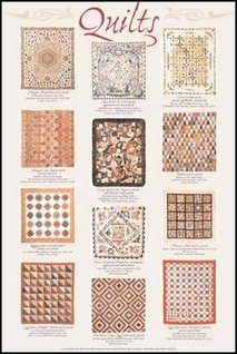 Stick It On Your Wall American-Quilts Poster, 91,5x 61cm