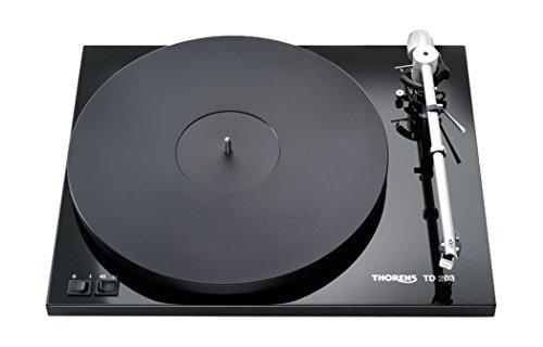 #07 GIRADISCHI MEDIAWORLD - Thorens TD-203 Turntable with TP82 Arm - Gloss Black