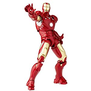Iron Man figurine Sci-Fi Revoltech #036 Iron Man Mark III 16 cm