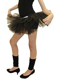 Crazy Chick Girl 3 Layer Tutu Skirts Ballet Dance Wear Halloween Fancy Dress