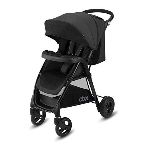 Cbx Misu Air - Silla de paseo, ruedas hinchables, incluye cubierta para lluvia, desde el nacimiento hasta los 15 kg, Smoky Anthracite