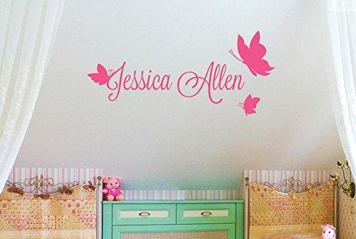 personalizado-nombre-con-tres-mariposas-vinilo-pegatinas-de-pared-decorativo