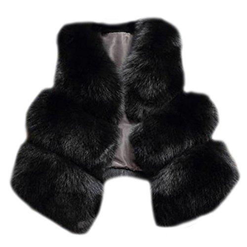 Zongsen donna spigato slim gilet cappotto senza maniche splicing outwear elegante e affascinante nero l
