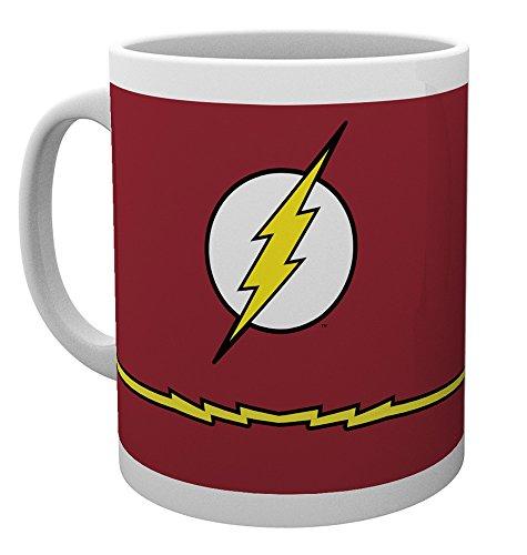 Kostüm Besten Flash (DC Comics The Flash Kostüm, Tasse,)