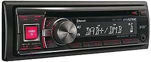 Alpine CDE-136BT 200W Bluetooth Multicolour car media receiver - car media receivers (DAB+,FM,LW,MW, 87.5 - 108 MHz, 531 - 1602 kHz, 153 - 281 kHz, MultiBit, 4.0 channels)