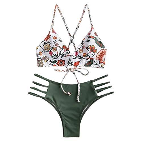 Bikini-Badeanzug, Zweiteiler Schwangere Bikini-Badeanzug Bikini Woman Push up Tankinis Größen Prime Badeanzug Lycra Monokini Langarm X-Short Funtals Bade, Herren Bade swimsuit swimanzug swimwear