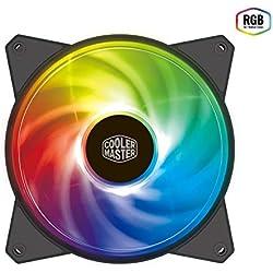 Cooler Master Masterfan MF120R RGB Carte-mère Ventilateur - Ventilateurs, Refoidisseurs et Radiateurs (Carte-mère, Ventilateur, 12 cm, 650 TR/Min, 2000 TR/Min, 31 DB)