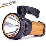 ROMER LED Searchlight Rechargeable Portable Handheld Spotlight Camping Lantern, Power Bank High-power Super
