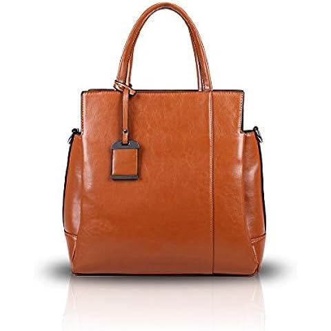 Nicole&Doris Leather Tote Bag lucida PU nuove signore borsa a
