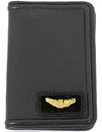 0623fa27af0b Armani Jeans Portacarte di credito in pelle di colore nero