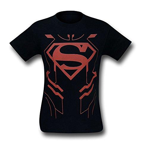 Kostüm Superboy Kinder - DC Comics Herren Superboy Neue 52 Kostüm T-T-Shirt-XXLarge