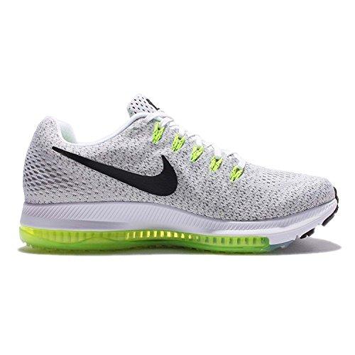 Nike Herren 878670-401 Trail Runnins Sneakers White/Black-Volt