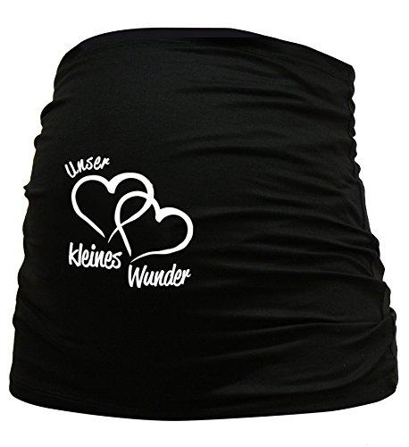Bauchband Unser-kleines-Wunder Schwarz