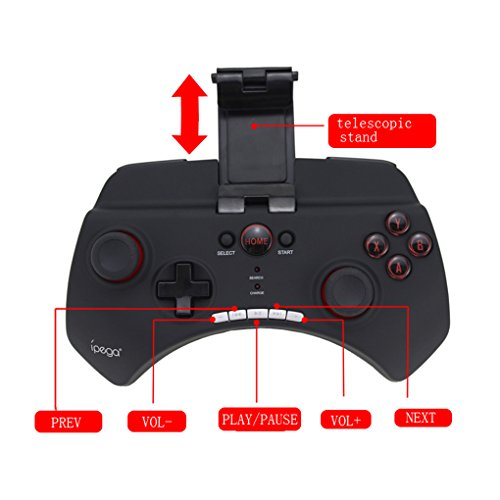 Preisvergleich Produktbild IPEGA PG-9025 drahtloser Bluetooth Game Controller Gamepad Joystick für MC4 für Wild Blut für Helium Boy für Android iOS Telefon Regard